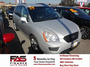2007 Kia Rondo LX Carfax Report - No Accidents  Damage Reported to CARFAX  Silver  Rates as l