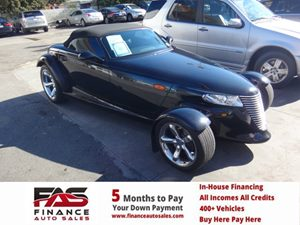 2000 Plymouth Prowler  Carfax Report - No Accidents  Damage Reported to CARFAX  Black  NOTICE