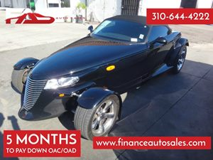 2000 Plymouth Prowler  Carfax Report - No Accidents  Damage Reported to CARFAX 6 Cylinders Air