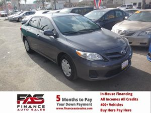 2011 Toyota Corolla L Carfax Report - No Accidents  Damage Reported to CARFAX  Magnetic Gray M