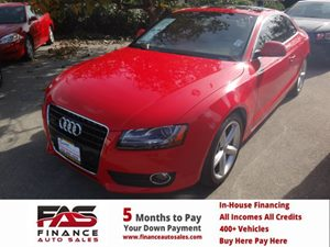 2009 Audi A5  Carfax 1-Owner - No Accidents  Damage Reported to CARFAX  Brilliant Red  Rates