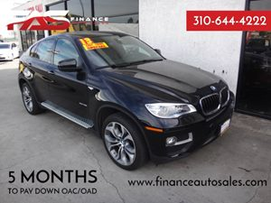 2013 BMW X6 xDrive35i Carfax 1-Owner - No Accidents  Damage Reported to CARFAX  Azurite Black