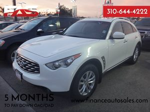 2009 Infiniti FX35  Carfax Report - No Accidents  Damage Reported to CARFAX  Moonlight White