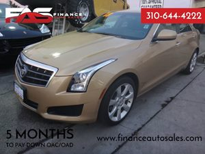2013 Cadillac ATS  Carfax 1-Owner - No Accidents  Damage Reported to CARFAX  Summer Gold Metal