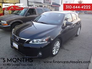 2013 Lexus CT 200h Hybrid Carfax 1-Owner - No Accidents  Damage Reported to CARFAX 3-Point Seatb