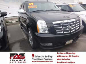 2009 Cadillac Escalade  Carfax Report  Black Cherry  Rates as low as 29 - At finance auto s