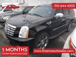 2009 Cadillac Escalade  Carfax Report 8 Cylinders Air Conditioning  AC Audio  AmFm Stereo