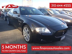 2009 Maserati Quattroporte  Carfax Report - No Accidents  Damage Reported to CARFAX 8 Cylinders