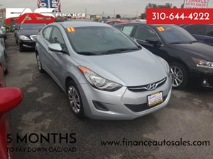 2011 Hyundai Elantra GLS Carfax Report - No Accidents  Damage Reported to CARFAX  Radiant Silv