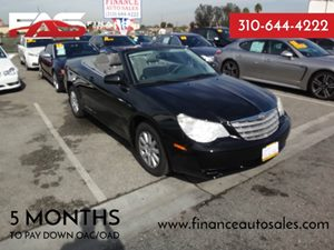 2008 Chrysler Sebring LX Carfax Report  Brilliant Black  Rates as low as 29 - At finance au