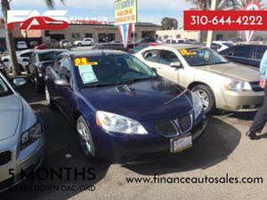 2008 Pontiac G6  Carfax Report - No Accidents  Damage Reported to CARFAX  Blue-Gold Crystal Me