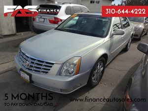 2007 Cadillac DTS Luxury II Carfax Report - No Accidents  Damage Reported to CARFAX  Silver