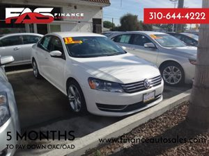 2013 Volkswagen Passat S Carfax Report - No Accidents  Damage Reported to CARFAX  Candy White