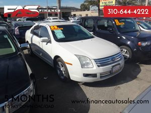 2008 Ford Fusion SE Carfax Report - No Accidents  Damage Reported to CARFAX  White Suede  Rat
