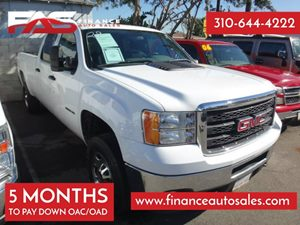 2011 GMC Sierra 2500HD Work Truck Carfax 1-Owner - No Accidents  Damage Reported to CARFAX 8 Cyl