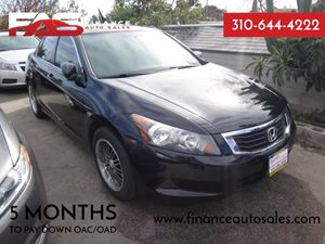 2009 Honda Accord Sdn LX Carfax Report - No Accidents  Damage Reported to CARFAX  Crystal Blac