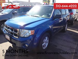 2008 Ford Escape XLT Carfax Report - No Accidents  Damage Reported to CARFAX  Light Ice Blue M