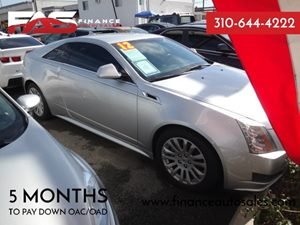 2012 Cadillac CTS Coupe  Carfax 1-Owner - No Accidents  Damage Reported to CARFAX  Radiant Sil