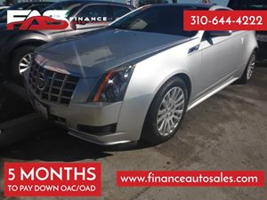 2012 Cadillac CTS Coupe  Carfax 1-Owner - No Accidents  Damage Reported to CARFAX 6 Cylinders A