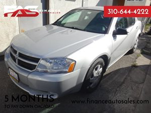 2010 Dodge Avenger SXT Carfax Report - No Accidents  Damage Reported to CARFAX  Bright Silver