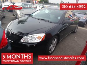 2007 Pontiac G6 GT Carfax Report - No Accidents  Damage Reported to CARFAX 6 Cylinders Audio