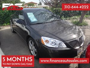 2007 Pontiac G6 GT Carfax Report 6 Cylinders Air Conditioning  AC Audio  AmFm Stereo Audio