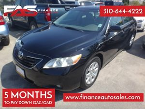 2009 Toyota Camry XLE Carfax 1-Owner - No Accidents  Damage Reported to CARFAX 4 Cylinders Air