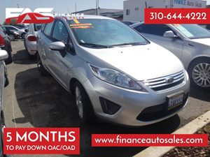 2013 Ford Fiesta SE Carfax 1-Owner - No Accidents  Damage Reported to CARFAX 4 Cylinders Air Co