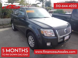 2010 Mercury Mariner Premier Carfax 1-Owner - No Accidents  Damage Reported to CARFAX Audio  Mp