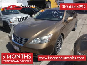 2007 Lexus ES 350  Carfax Report 6 Cylinders Air Conditioning  AC Audio  Cd Player Convenie