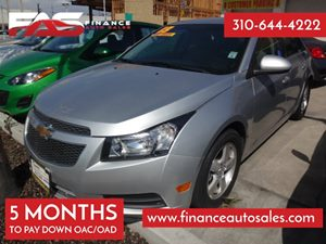 2013 Chevrolet Cruze 1LT Carfax 1-Owner - No Accidents  Damage Reported to CARFAX 4 Cylinders A