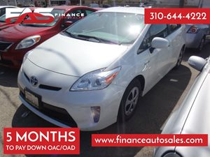 2013 Toyota Prius Five Carfax 1-Owner - No Accidents  Damage Reported to CARFAX 4 Cylinders Air