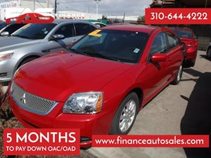 2012 Mitsubishi Galant FE Carfax Report - No Accidents  Damage Reported to CARFAX 4 Cylinders A