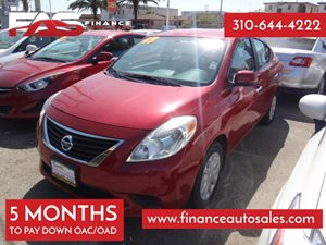 2013 Nissan Versa SV Carfax 1-Owner - No Accidents  Damage Reported to CARFAX 3-Point ElrAlr Re
