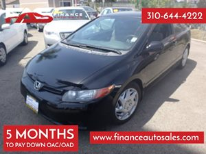 2007 Honda Civic Cpe LX Carfax Report - No Accidents  Damage Reported to CARFAX 4 Cylinders Air