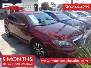 2013 Chrysler 200 Touring Carfax Report - No Accidents  Damage Reported to CARFAX  Deep Cherry