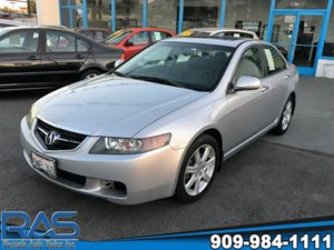 View 2004 Acura TSX
