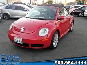 View 2008 Volkswagen New Beetle Convertible