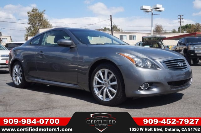 Used 2011 Infiniti G37 Coupe Journey In Ontario