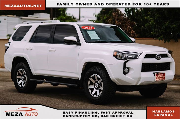 2018 Toyota 4Runner SR5 3rd Row