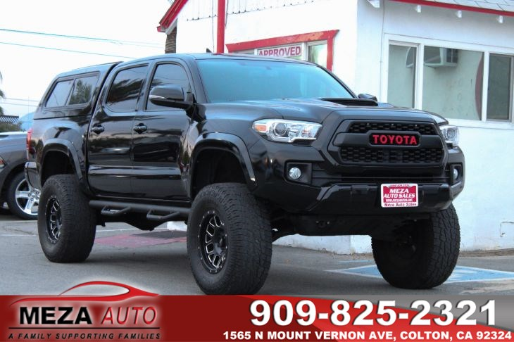 2016 Toyota Tacoma Lifted >> Sold 2016 Toyota Tacoma Sr5 Lifted Custom In Colton