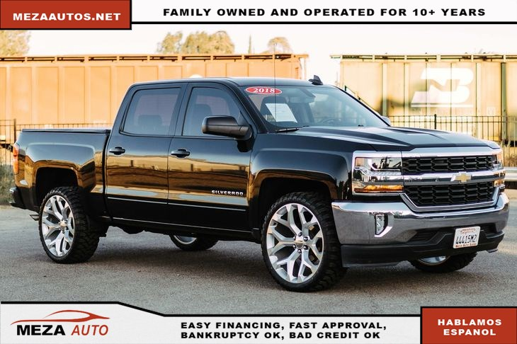2018 Chevrolet Silverado 1500 LT *24 inch reps *Offroad package