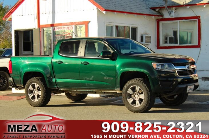 Sold 2015 Chevrolet Colorado 2wd Lt 1 Owner In Colton