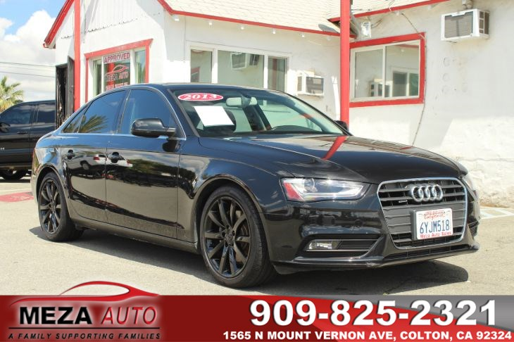 2013 Audi A4 Premium Plus Black Out Package!