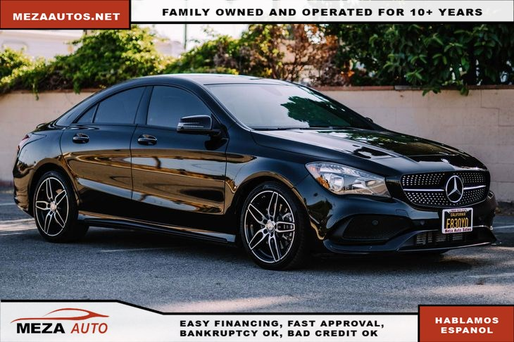 2017 Mercedes-Benz CLA 250 sedan *FULLY LOADED