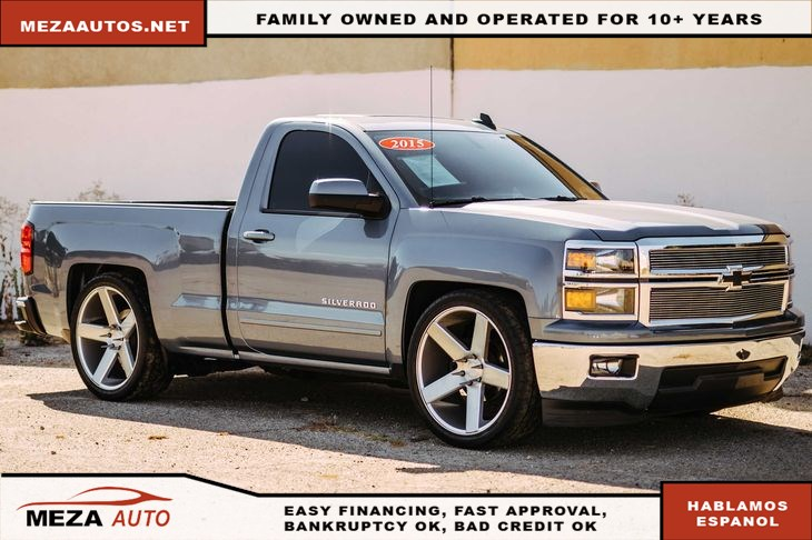 2015 Chevrolet Silverado 1500 LT Lowered