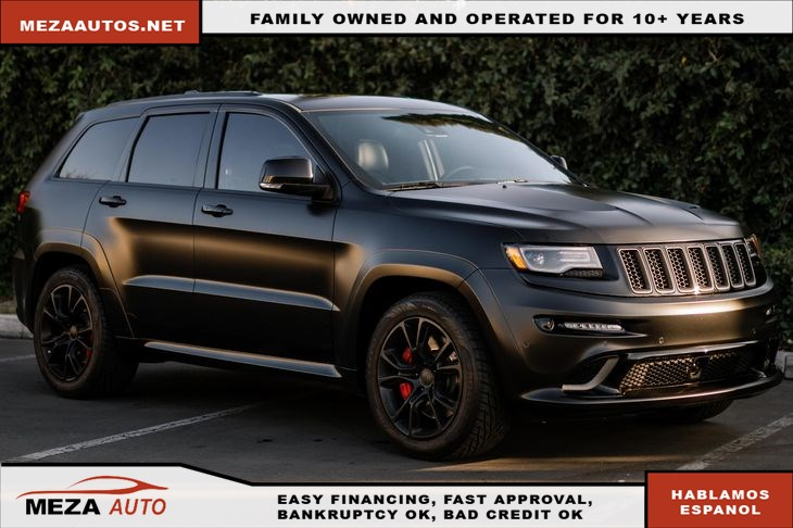 2015 Jeep Grand Cherokee Matte Wrap SRT