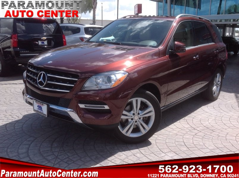 2013 Mercedes-Benz ML350 SUV
