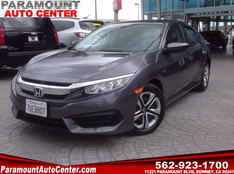 2016 Honda Civic Sedan LX