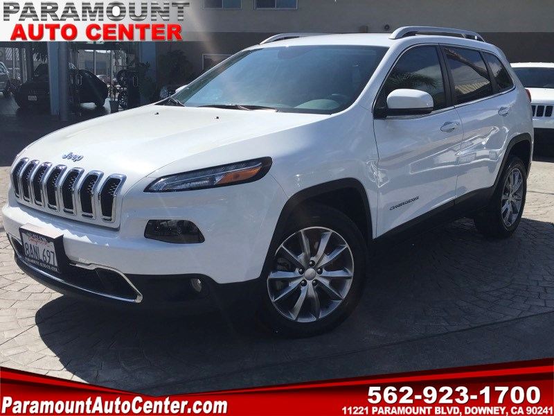 2018 Jeep Cherokee Limited